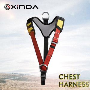 Xinda The upper body rock climbing harness chest safety support belt for mountaineering rappelling outdoor tree work climbing - thegsnd