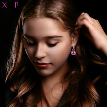 Load image into Gallery viewer, Xuping Jewelry Luxury Exquisite Crystals from Swarovski Gold Color Plated Earrings for Women Valentine's Day Gifts M65-203-Women Jewelry Collection.-thegsnd