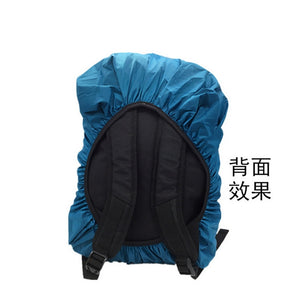 by dhl or ems 100pcs Backpack Rain Cover Shoulder Bag Waterproof Cover Outdoor Climbing Hiking Travel Tools Kits Suit - thegsnd