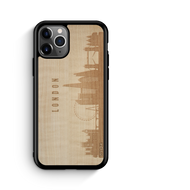 CityScape Wooden Phone Case (London England Skyline)-Adult Products-WUDN-thegsnd