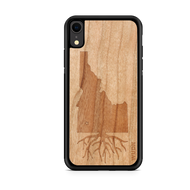 Slim Wooden Phone Case (Idaho Roots in American Cherry)-Adult Products-WUDN-thegsnd