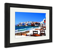 Framed Print, Beautiful Mykonos Greece-Framed Print-Ashley Art Studio-thegsnd