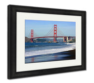 Framed Print, San Francisco Golden Gate Bridge-Framed Print-Ashley Art Studio-thegsnd