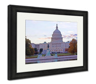 Framed Print, Us Capitol Building-Framed Print-Ashley Art Studio-thegsnd