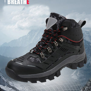 men Hiking Shoes Professional Waterproof Hiking Boots Tactical Boots Outdoor Mountain Climbing Sports Sneakers Boots for Hunting - thegsnd