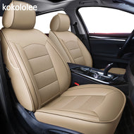 kokololee custom real leather car seat cover For audi TT R8 a1 a3 8p 8l sportback A4 A6 A5 a7 a8 a8l Q3 Q5 Q7 auto accessories - thegsnd