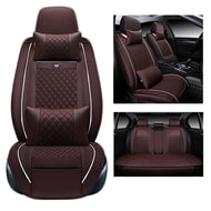 Special pu Leather Car Seat Cover set For Mitsubishi Pajero Sport OUTLANDER EX Lancer Galant EVO FORTIS auto accessories styling - thegsnd