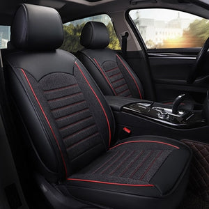 Pleasant Leather Linen Car Seat Cover For Volkswagen All Models Vw Polo Passat B6 B7 B8 Golf 5 6 7 Touran Tiguan Jetta Car Accessories Uwap Interior Chair Design Uwaporg