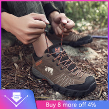 Load image into Gallery viewer, summer Breathable Men Hiking Shoes  Mesh Outdoor Men Sneakers Climbing Shoes Men Sport Shoes Quick-dry Water Shoes#g2 - thegsnd