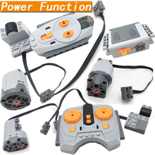 Technic parts functions tool for multi power electric motor building kits HU
