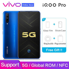 "Load image into Gallery viewer, vivo iQOO Pro 5G Original Global ROM Support Google NFC 6.41"" Screen 48MP Camera 44W Fast Charge Snapdragon 855 Mobile Phone - thegsnd"