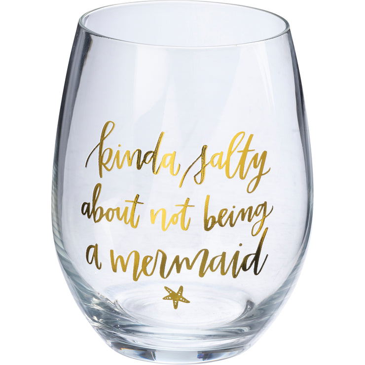 Wine Glass - Kinda Salty