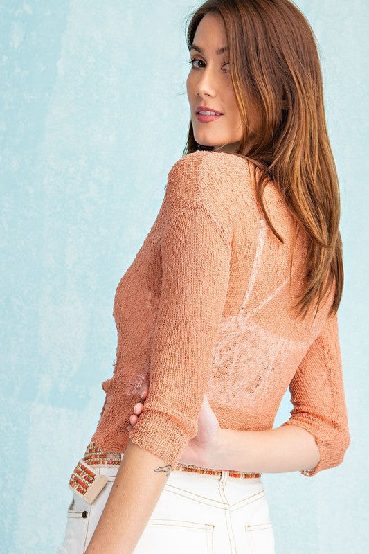 Knitted Sweater Shrug