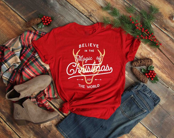 Believe in the Magic of Christmas Graphic Tee
