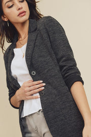 Double Pocket Jacket - Charcoal