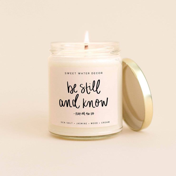 Be Still and Know Soy Candle - 9 oz