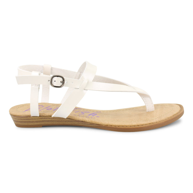 Blowfish Berg Sandals - Pearl White
