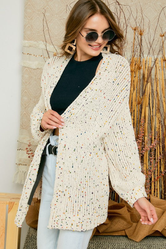 Confetti Sweater Cardigan