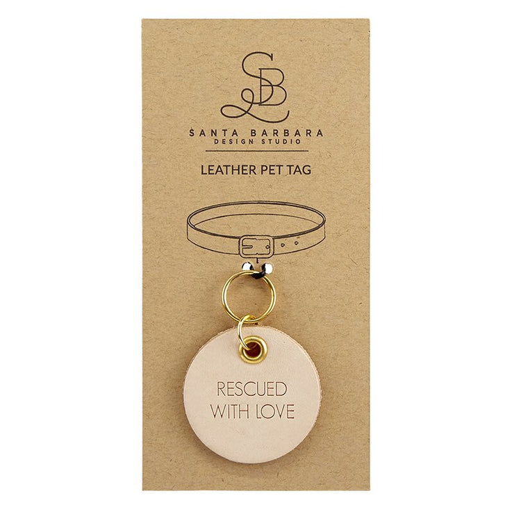 Leather Pet Tags