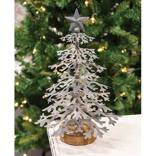 Galvanized Christmas Tree - Small