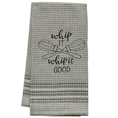 Whip It Dish Towel, 20x28