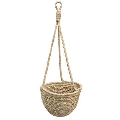 Hanging Jute Flower Pot Holder, Large