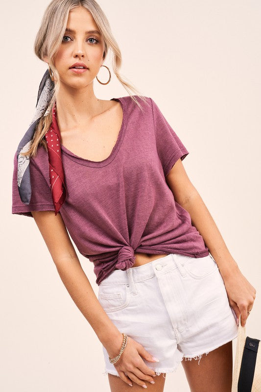 Ray Drapey Top