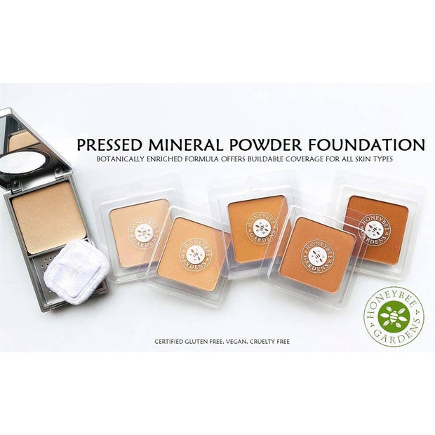 Pressed Mineral Powder Foundation - Malibu