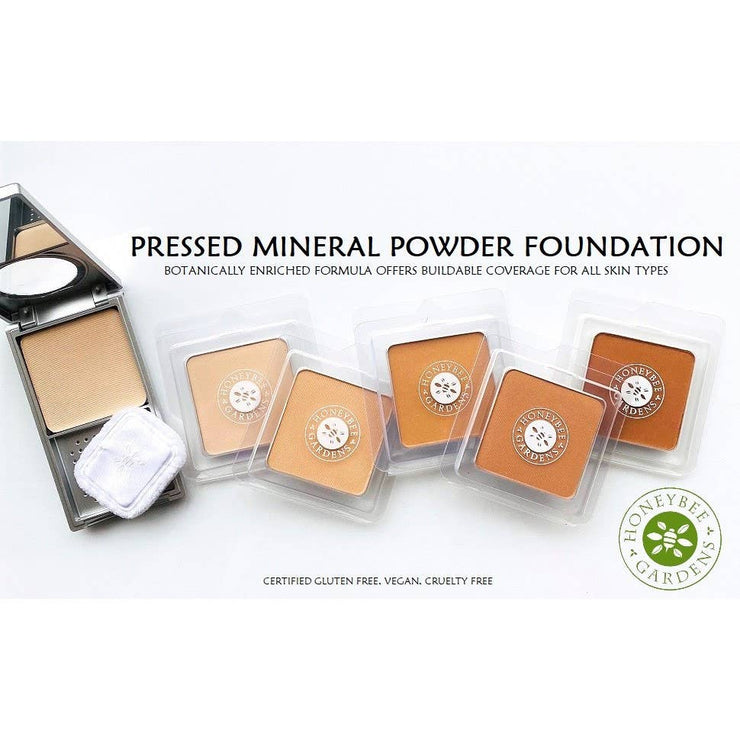 Pressed Mineral Powder Foundation - Montego