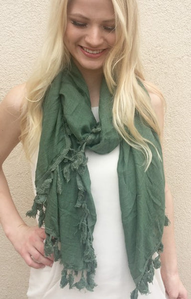 Festival Feelings Scarf - Sage