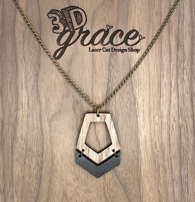 Nora Wood Necklace