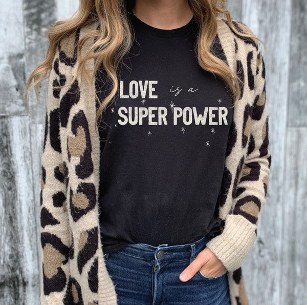 Love is a Super Power Graphic Tee