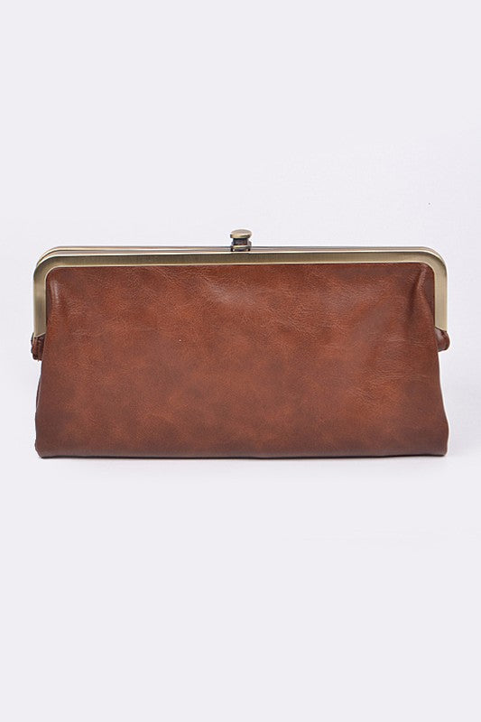 Fold Over Clutch Wallet