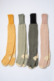 Knitted Lounge Socks - Black