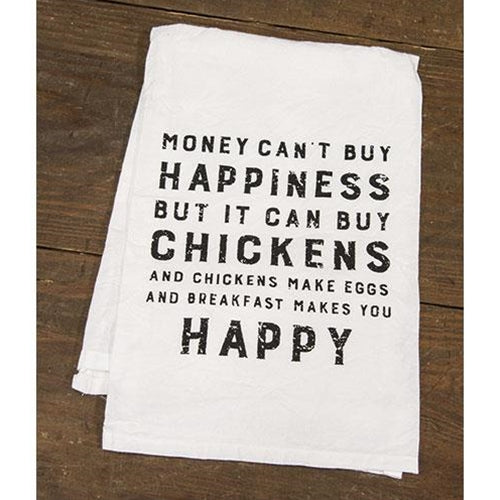 Buy Chickens Dish Towel