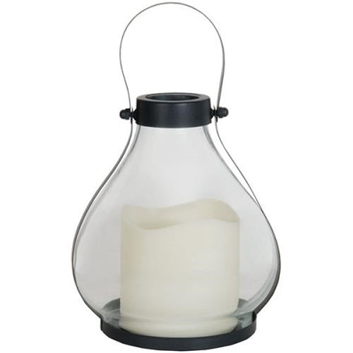 Glass School Lantern
