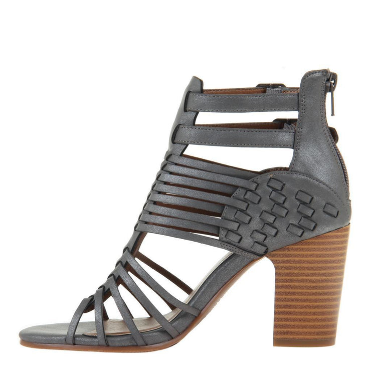 KWEEN in DARK GREY Heeled Sandals