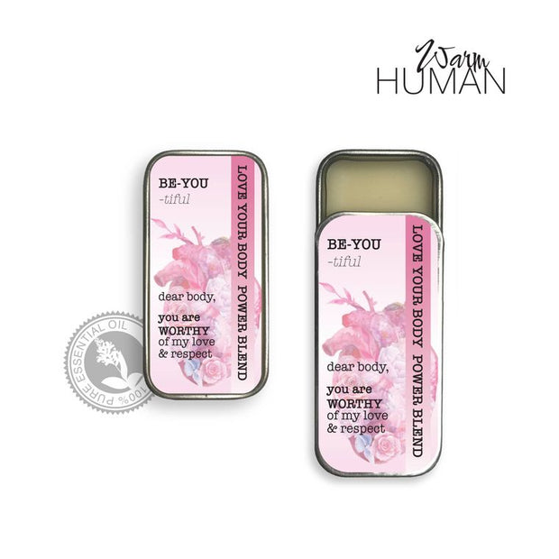 Be-YOU-tiful Blend • 100% Pure Essential Oil Solid Perfume