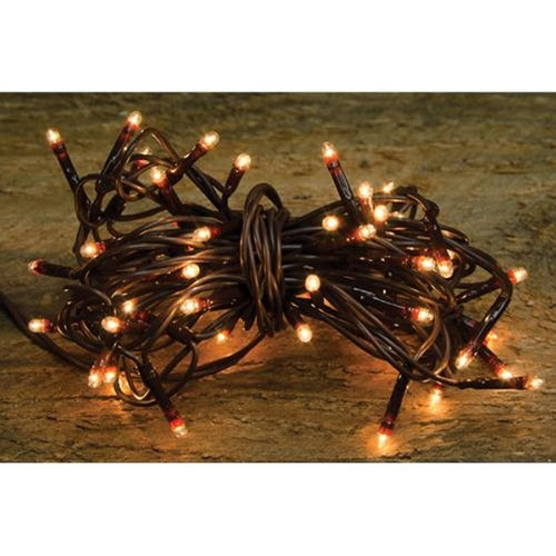 Teeny Lights, Brown Cord, 50ct