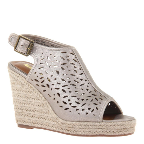 VERVE in CROST BONE Wedge Sandals