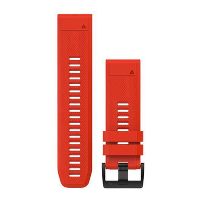QuickFit® 26 Watch Band Silicone (F5X) Flame Red