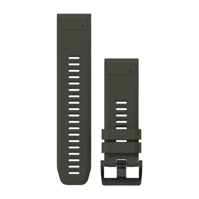 QuickFit® 26 Watch Band Silicone (F5X) Moss Green