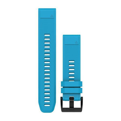QuickFit® 22 Watch Band Silicone (F5) Citrus Blue
