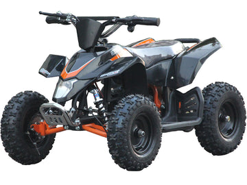 MotoTec 24v Kids ATV v3 Black