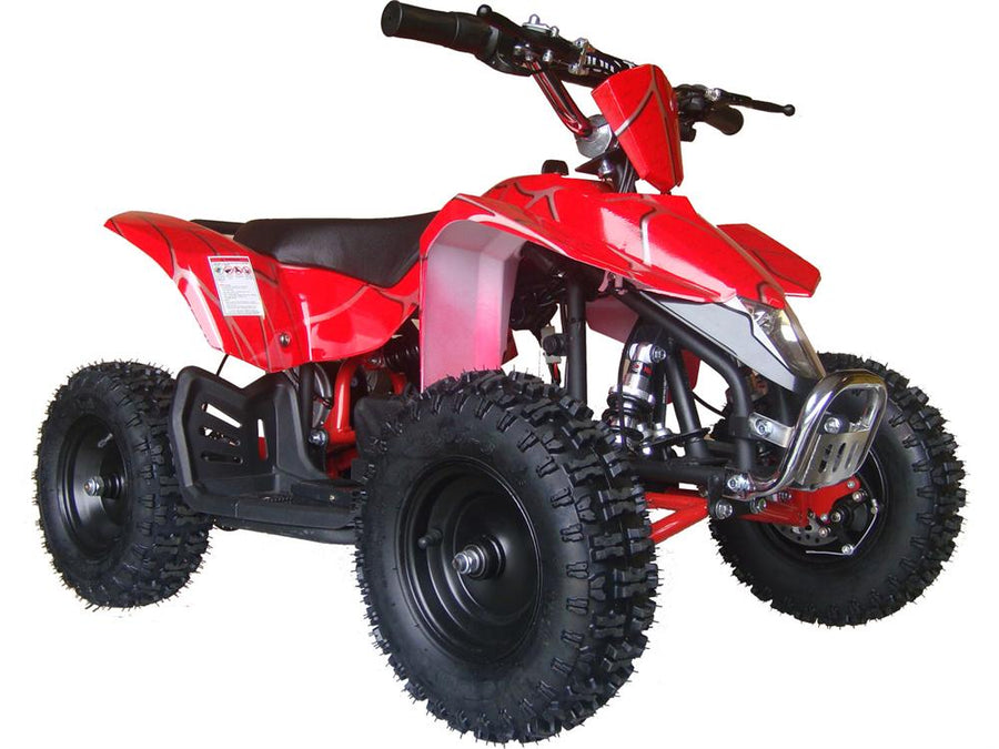 MotoTec 24v Kids ATV v3 Red