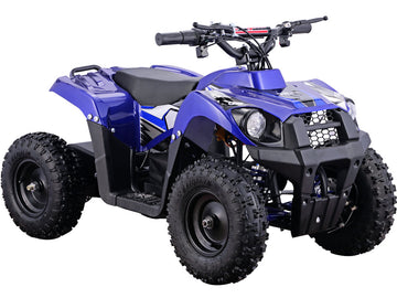 MotoTec 36v 500w Kids ATV Monster v6 Blue
