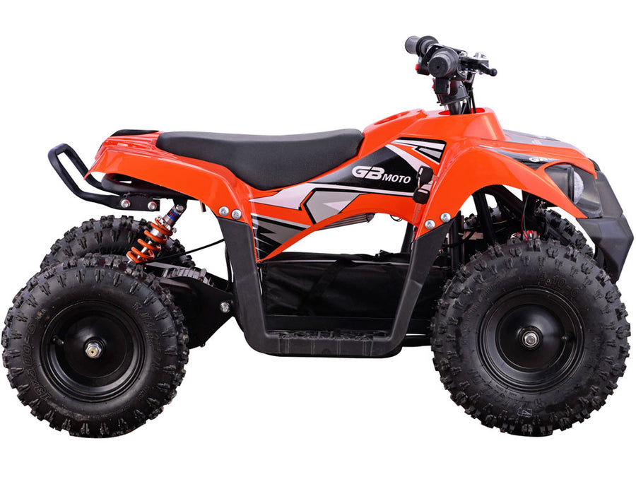 MotoTec 36v 500w Kids ATV Monster v6 Orange