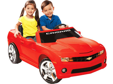 Red Racing Camaro Chevrolet 12V Ride-On Toy