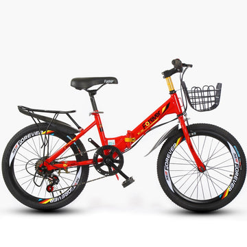 20inch Children's Mountain Bike Folding Single Speed and 6 Variable Speed Kids' Bike