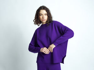 MERINO WOOL SET PURPLE